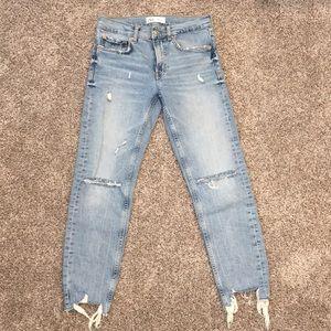 Zara The Slim Boyfriend Jeans
